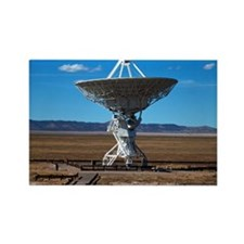 (15s) VLA Dish Walkway Rectangle Magnet