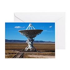 (15s) VLA Dish Walkway Greeting Card