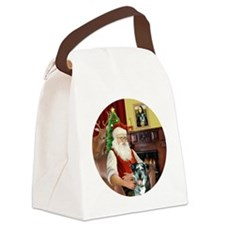 R-Santa-CatahoulaLeopardDog Canvas Lunch Bag