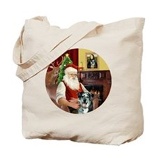 R-Santa-CatahoulaLeopardDog Tote Bag