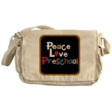 Peace Love Preschool Bag Messenger Bag