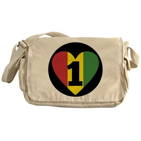 NEW-One-Love-voice-mind6 Messenger Bag