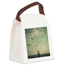 Kite surfing Canvas Lunch Bag