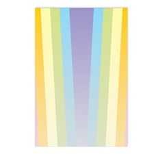 Pastel Rainbow Postcards (Package of 8)