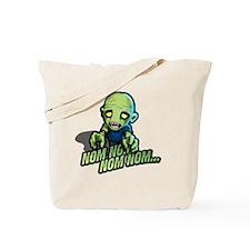 Plight of the Zombie Nom Nom Nom Tote Bag