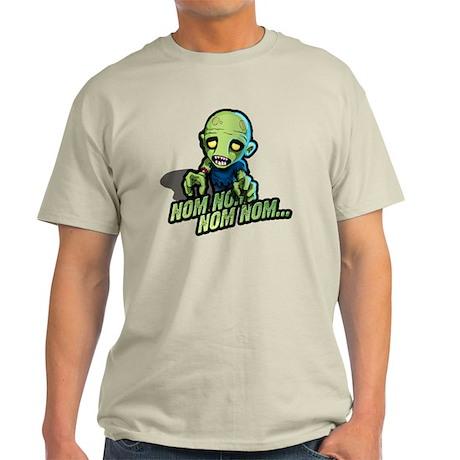 Plight of the Zombie Nom Nom Nom Light T-Shirt