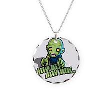Plight of the Zombie Nom Nom Necklace