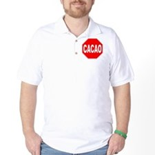 Cacao Stop Sign T-Shirt