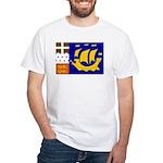 St Pierre and Miquelon White T-Shirt