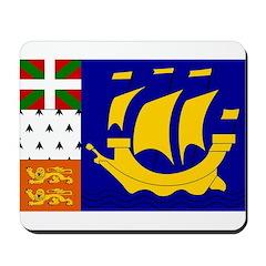 St Pierre and Miquelon Mousepad