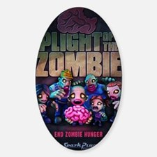 Plight of the Zombie Poster Decal