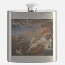 The abduction of Europa - Titian - c1562 Flask