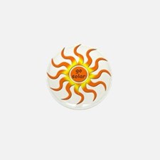 Solar Energy - Go Green Mini Button