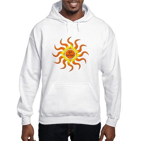 Solar Energy - Go Green Hooded Sweatshirt