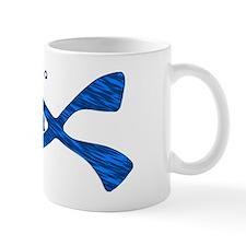 Scuba Fish Blues Mug