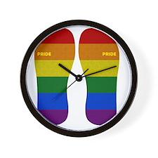Pride Flip-Flop Wall Clock