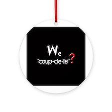 COUP-DE-LA Ornament (Round)