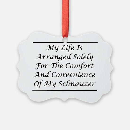 Schnauzer Convenience Ornament