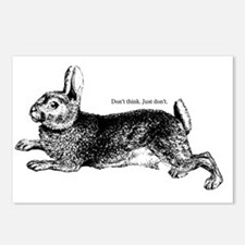 Sarcastic Bunny Postcards (Package of 8)