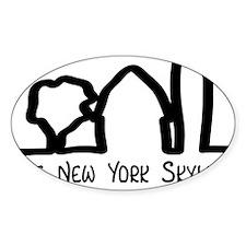 NY Skyline Decal