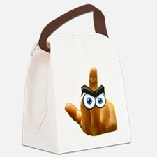 pissed off The bird Canvas Lunch Bag