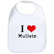 I Heart (Love) Mullets Bib