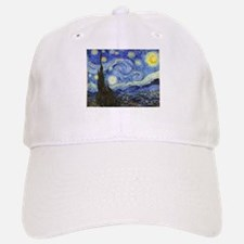 Starry Night - Van Gogh Baseball Baseball Baseball Cap