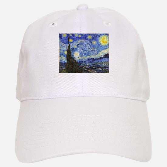 Starry Night - Van Gogh Baseball Baseball Baseball Cap