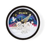 Bichon Wall Clocks