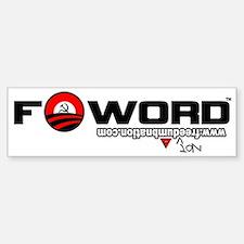 Barack Hussein Obama_FWord Bumper Bumper Sticker