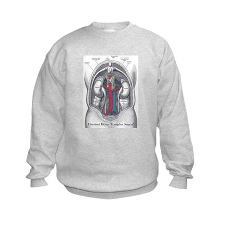 I Survived Kidney Transplant Kids Sweatshirt