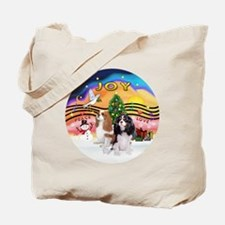 Two Cavaliers Tote Bag