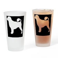 portiepatch Drinking Glass