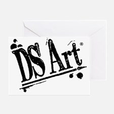 DS Art logo Greeting Card
