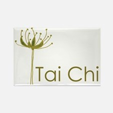 Tai Chi Heart Rectangle Magnet