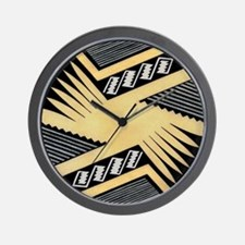 MIMBRES WING BOWL DESIGN Wall Clock
