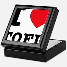 I Heart Tofu Keepsake Box