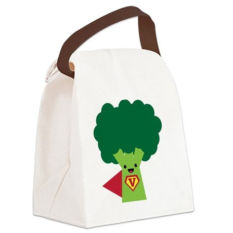 Super Broccoli Canvas Lunch Bag