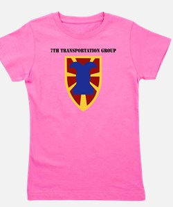 SSI - 7th Transportation Group with Tex Girl's Tee