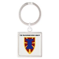 SSI - 7th Transportation Group wit Square Keychain