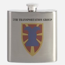 SSI - 7th Transportation Group with Text Flask