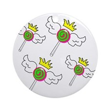 Lolliland Royalty Round Ornament