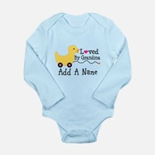 Personalized Loved By Grandma Body Suit