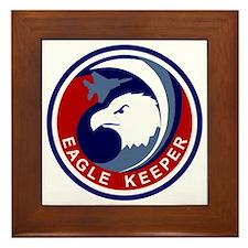 F-15 Eagle Keeper Framed Tile