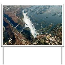 Aerial of Victoria Falls Yard Sign