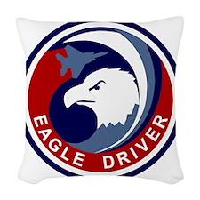 F-15 Eagle Woven Throw Pillow