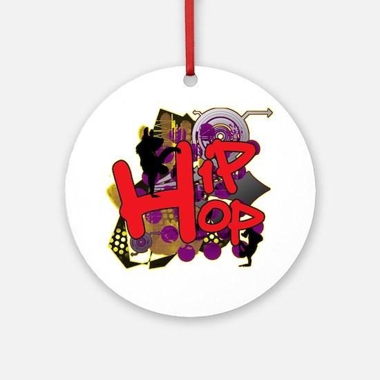 HIP HOP YO Round Ornament