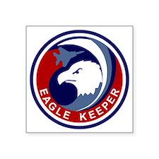"F-15 Eagle Keeper Square Sticker 3"" x 3"""