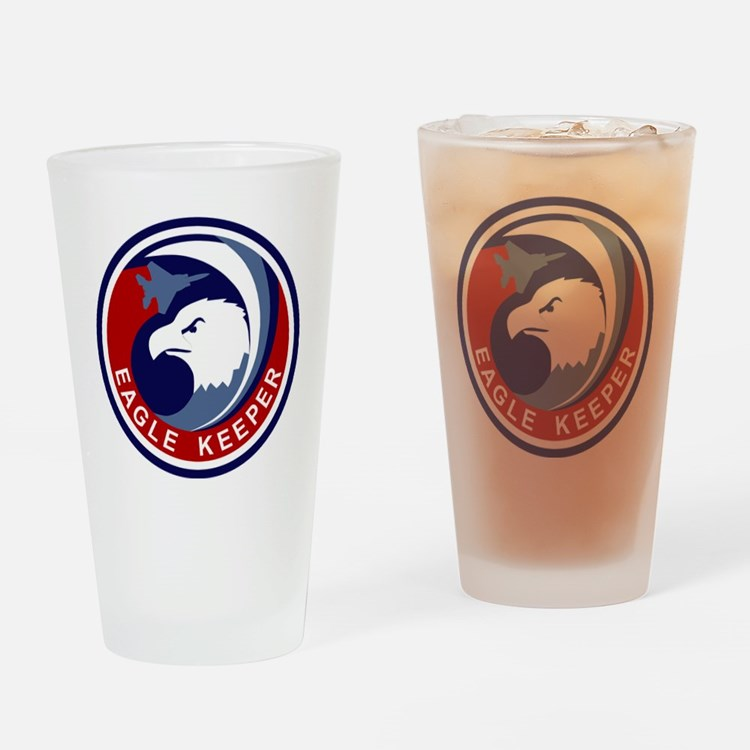 F-15 Eagle Keeper Drinking Glass