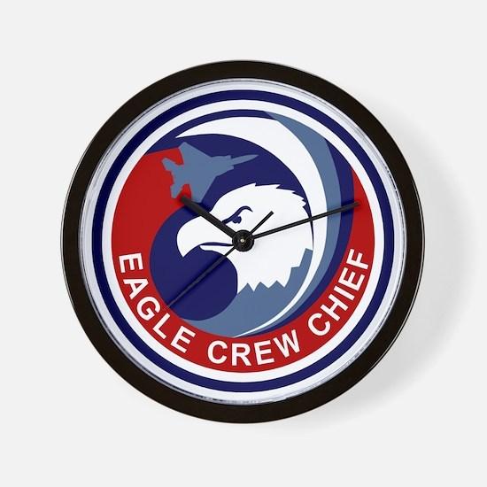 F-15 Eagle Crew Chief Wall Clock